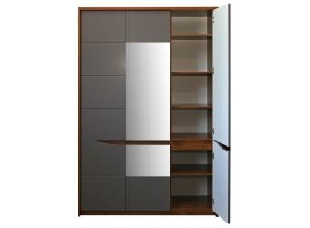 Шкаф для одежды «Монако» П528.07 (дуб саттер/серый мокко)