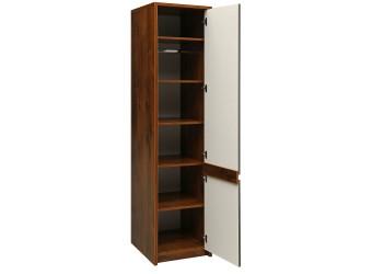 Шкаф для одежды «Монако» П528.09-01 (дуб саттер/мокко серый)