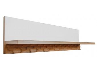 Полка «Рондо» П553.13 (дуб Вотан+белый)