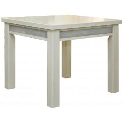 Обеденный стол «Тунис 1» П352.01 (слоновая кость с серебром)