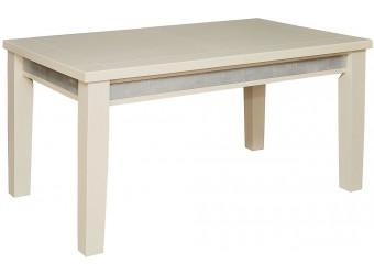 Обеденный стол «Тунис 1Р» П352.02 (слоновая кость с серебром)