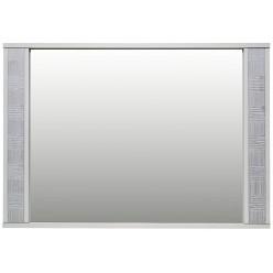 Зеркало настенное «Тунис» П344.03 (слоновая кость с серебром)