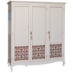 Шкаф для спальни «Видана Люкс» П445.01 Светлый ром