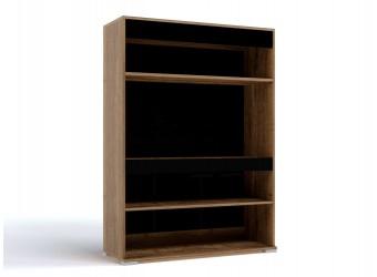 Двухстворчатый шкаф-витрина для посуды Б-3 (ДГТ) Бруна