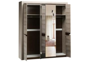 Четырехстворчатый шкаф для одежды Г-12 (ЯТ) Гарда с зеркалом