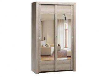 Двухстворчатый шкаф-купе для одежды Г-13 (ЯТ) Гарда с зеркалом