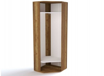 Угловой шкаф для одежды ПХ-2 (ДГТ) Ханна