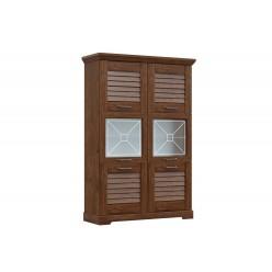 Двухстворчатый шкаф-витрина для посуды ГК-2 (ОРТ) Кантри