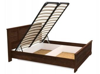 Двуспальная кровать СК-3-1 (ОРТ) Кантри с подъемным механизмом