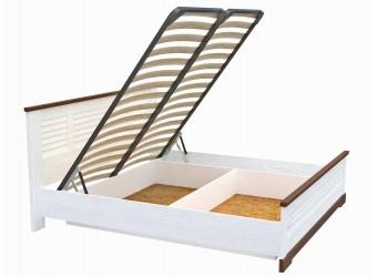 Двуспальная кровать СК-3-1 (СА/ОРТ) Кантри с подъемным механизмом