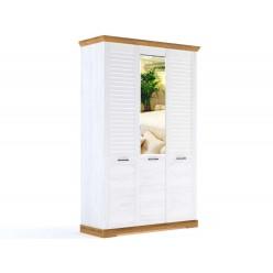 Трехстворчатый шкаф для одежды СК-7 (СА/ОРН) Кантри с зеркалом
