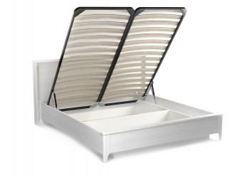 Двуспальная кровать с подъемным механизмом 1400х2000 Клер, Сосна Андерсен