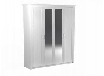 Четырехстворчатый шкаф для одежды Клер, Сосна Андерсен
