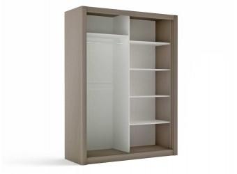 Двухстворчатый шкаф-купе для одежды СЛ-9 Лацио