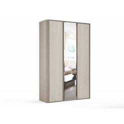 Трехстворчатый шкаф для одежды СЛ-7 Лацио с зеркалом