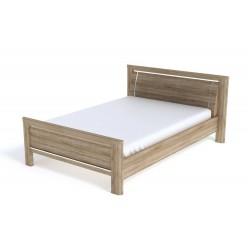 Двуспальная кровать СМ-5 (ДБ) Магнолия