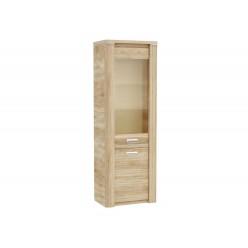 Шкаф-витрина для посуды ГМ-3 (ДБ) Магнолия
