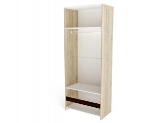 Двухстворчатый шкаф для одежды СМ-11 Мале