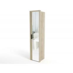Шкаф-пенал для одежды СМ-10 Мале с зеркалом