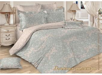 Комплект постельного белья Перкаль Льняная палитра