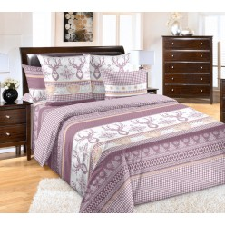 Комплект постельного белья Лапландия Вишневый Винтаж