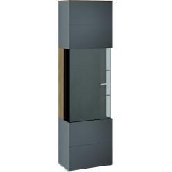Шкаф для посуды «Харрис» (Дуб американский/Серебряный гранит) ТД-302.07.25