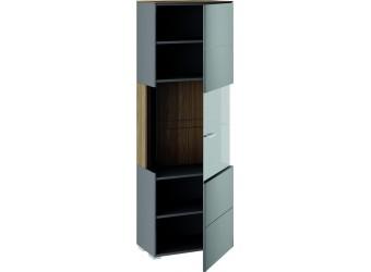 Шкаф для посуды «Харрис» (Дуб американский/Серебряный гранит) ТД-302.07.27