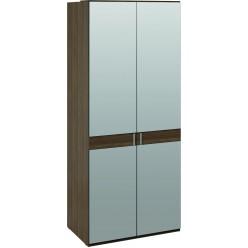 Шкаф для одежды с 2-мя зеркальными дверями «Харрис» (Дуб американский) СМ-302.07.005