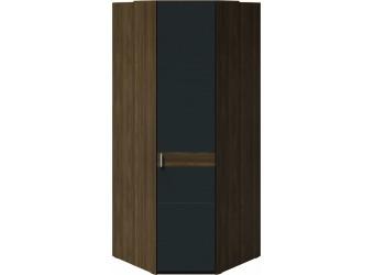 Шкаф угловой 1 глухой дверью «Харрис» (Дуб американский/Серебряный гранит) СМ-302.07.006
