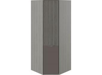Шкаф угловой с 1 дверью с ЛКП «Либерти» (Хадсон/Фон Серый) СМ-297.07.033