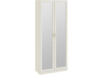 Шкаф для одежды с 2-мя зеркальными дверями «Лючия» (Штрихлак) СМ-235.22.02