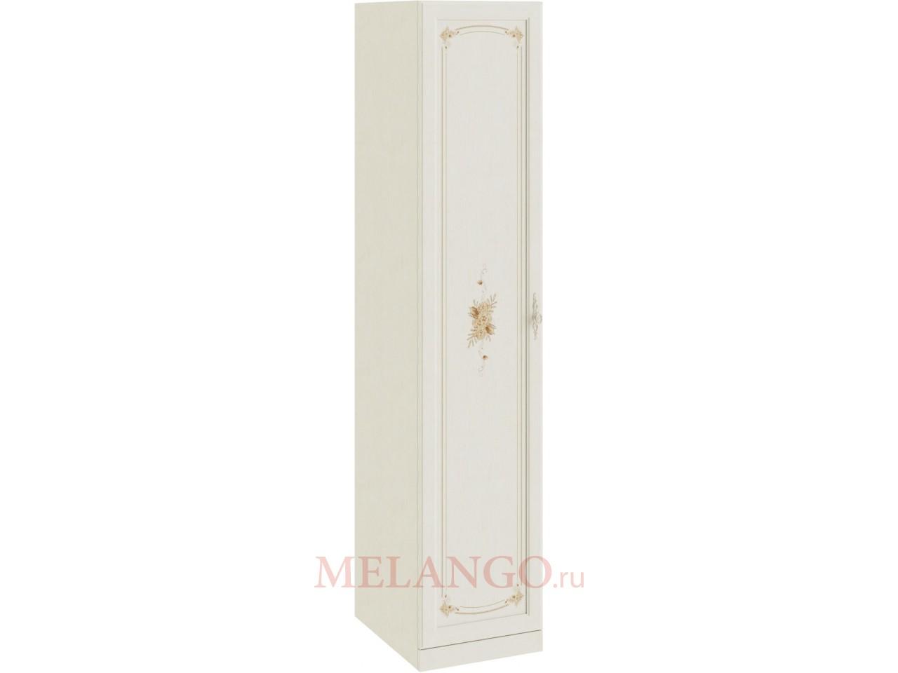 Шкаф для белья с 1-ой дверью «Лючия» (Штрихлак) СМ-235.07.01