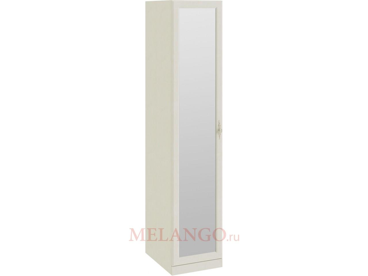 Шкаф для белья с 1-ой зеркальной дверью «Лючия» (Штрихлак) СМ-235.07.02