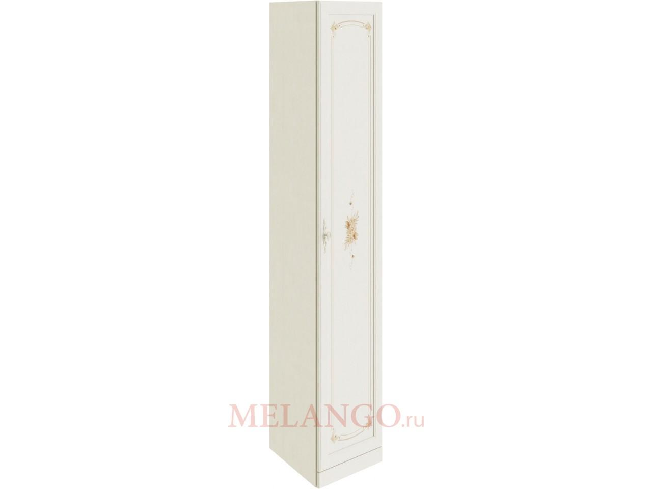 Шкаф торцевой с 1-ой дверью «Лючия» (Штрихлак) СМ-235.07.08