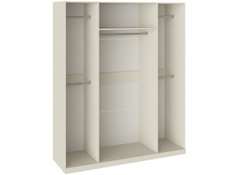 Шкаф для одежды и белья с 4 глухими дверями «Лючия» (Штрихлак) СМ-235.07.12