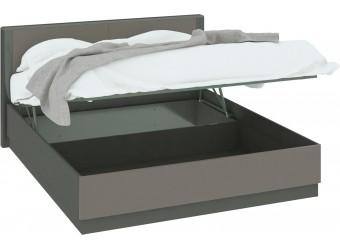 Кровать «Наоми» с подъемным механизмом (Фон серый, Джут) СМ-208.01.02