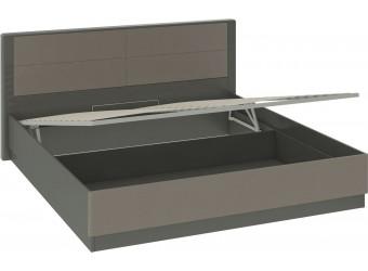 Кровать «Наоми» с подъемным механизмом (Фон серый, Джут) СМ-208.01.05