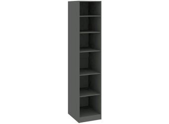 Шкаф с 1-й дверью «Наоми» (Фон серый, Джут) СМ-208.07.01