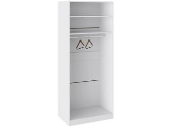 Шкаф с 2-мя дверями «Наоми» (Белый глянец) СМ-208.07.03
