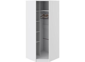 Шкаф угловой с 1-й дверью «Наоми» (Белый глянец) СМ-208.07.06