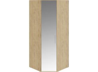 Шкаф угловой с 1 зеркальной дверью левый «Николь» (Бунратти) СМ-295.07.007 L