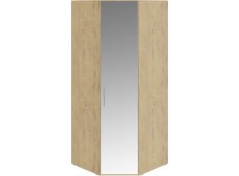 Шкаф угловой с 1 зеркальной дверью левый «Николь» (Бунратти) СМ-295.07.007 R