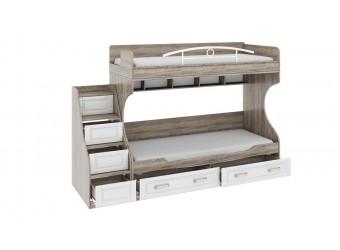 Двухъярусная кровать «Прованс» ТД-223.11.001