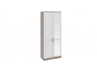 Шкаф для одежды с 1-ой глухой и 1-ой зеркальной дверями «Прованс» СМ-223.07.025R