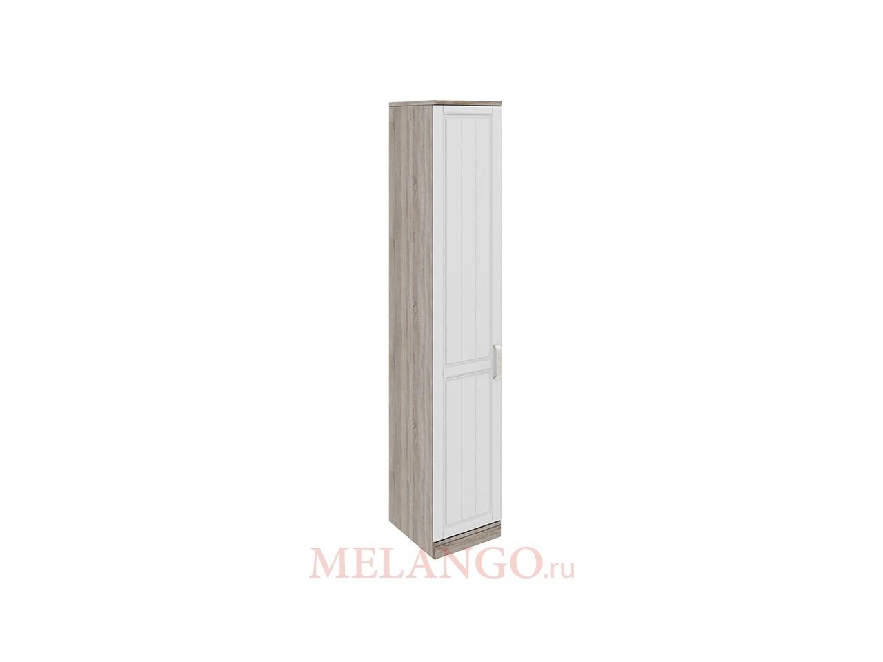 Шкаф торцевой с 1-ой дверью левый «Прованс» СМ-223.07.008L