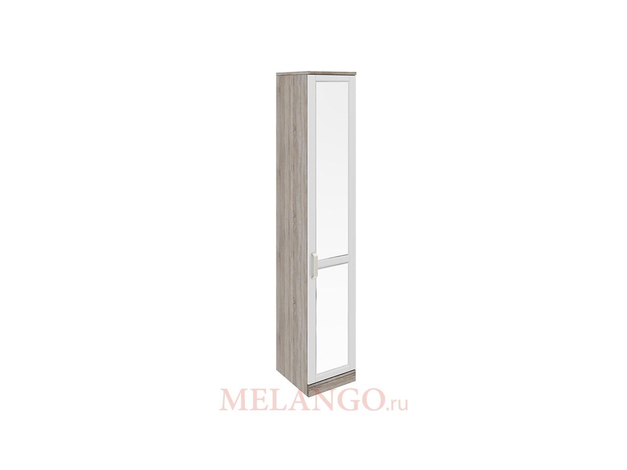 Шкаф торцевой с 1-ой зеркальной дверью правый «Прованс» СМ-223.07.009 R