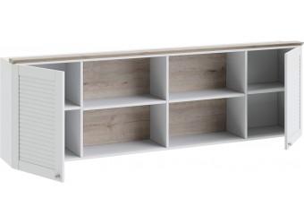 Шкаф настенный «Ривьера» (Дуб Бонифацио/Белый) ТД-241.12.21