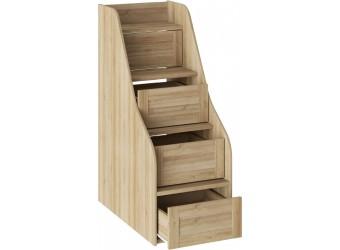 Лестница приставная для двухъярусной кровати «Ривьера» (Дуб Ривьера) ТД-241.11.12