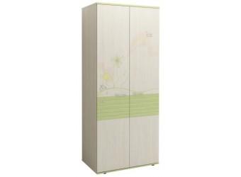 Двухстворчатый шкаф для одежды Акварель 53.01