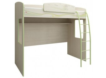 Кровать-чердак с лестницей Акварель 53.12
